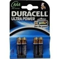 Duracell Ultra Power-AAA(MN2400/LR03)K4 m Powerch., 4 ST, Duracell Germany GmbH