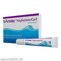 Artelac Nighttime Gel, 3X10 G, Dr. Gerhard Mann