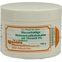 Wollwachsalkoholsalbe wasserhaltig m Olivenöl 5%, 100 G, Pharmachem GmbH & Co. KG