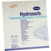 HYDROSORB comfort Wundverband 12,5x12,5 cm, 5 ST, PAUL HARTMANN AG