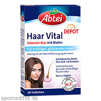 Abtei Haar Vital Depot, 30 ST, Omega Pharma Deutschland GmbH