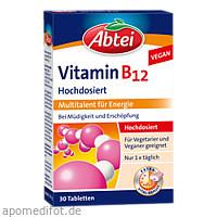 Abtei Vitamin B12 Depot, 30 ST, Omega Pharma Deutschland GmbH