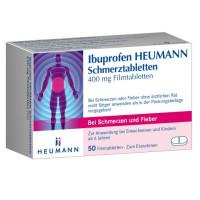 Ibuprofen Heumann Schmerztabletten 400mg Filmtabl., 50 ST, Heumann Pharma GmbH & Co. Generica KG