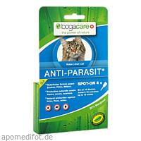 BOGACARE ANTI-PARASIT Spot-on Katze, 4X0.75 ML, Werner Schmidt Pharma GmbH
