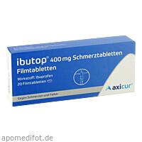 Ibutop 400mg Schmerztabletten, 20 ST, Axicorp Pharma GmbH