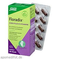 Floradix Eisen plus B-Vitamine, 40 ST, Salus Pharma GmbH