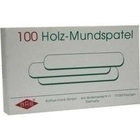 Holzmundspatel, 100 ST, Büttner-Frank GmbH