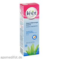 Veet Haarentfernungs-Creme Sensitive, 100 ML, Reckitt Benckiser Deutschland GmbH