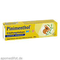 PINIMENTHOL Erkältungsbalsam mild, 50 G, Dr.Willmar Schwabe GmbH & Co. KG