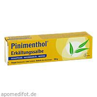 PINIMENTHOL Erkältungssalbe Eucalyp/Kiefernad/Ment, 50 G, Dr.Willmar Schwabe GmbH & Co. KG