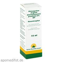 Rhinoguttae Argenti diacetylotannici prot.3% MP, 10 ML, Leyh-Pharma GmbH