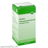 ACOIN-Lidocainhydrochlorid 40mg/ml, 50 ML, COMBUSTIN Pharmazeutische Präparate GmbH