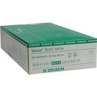 VASCO NITRIL WHITE UH M, 100 ST, B. Braun Melsungen AG