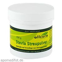 Stevia Streupulver, 150 G, Allcura Naturheilmittel GmbH