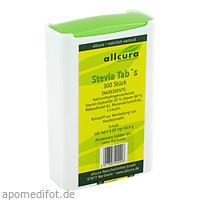 Stevia Tabs, 300 ST, Allcura Naturheilmittel GmbH