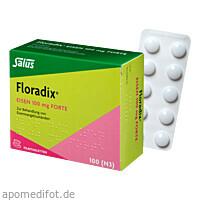 Floradix Eisen 100mg forte, 100 ST, Salus Pharma GmbH