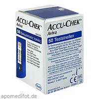 ACCU CHEK Aviva Plasma II Teststreifen, 50 ST, Medi-Spezial GmbH