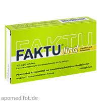 Faktu lind Zäpfchen mit Hamamelis, 10 ST, DR. KADE Pharmazeutische Fabrik GmbH