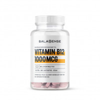 Vitamin B12 1000 µg hochdosiert Balasense vegan, 180 ST, Balasense