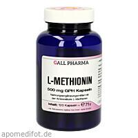 L-Methionin 500 mg GPH Kapseln, 120 ST, Hecht-Pharma GmbH