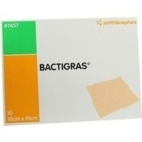 Bactigras 10x10cm, 10 ST, Smith & Nephew GmbH