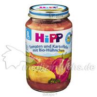 HIPP 6510 Tomaten und Kartoffeln mit Bio Huehnchen, 220 G, Hipp GmbH & Co.Vertrieb KG