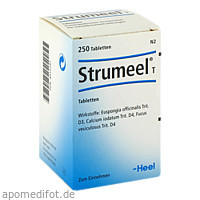 Strumeel T, 250 Stück, Biologische Heilmittel Heel GmbH