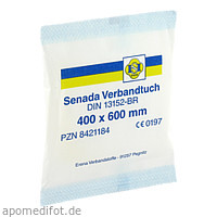 Senada Verbandtuch 40x60, 1 ST, Erena Verbandstoffe GmbH & Co. KG