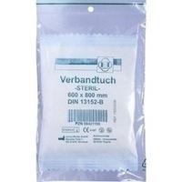 Senada Verbandtuch 60x80, 1 ST, Erena Verbandstoffe GmbH & Co. KG