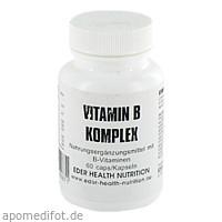 Vitamin B Komplex, 60 ST, Eder Health Nutrition