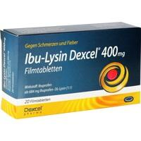Ibu-Lysin Dexcel 400 mg Filmtabletten, 20 ST, Dexcel Pharma GmbH