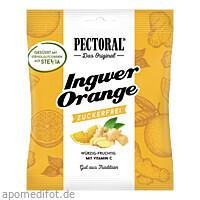 PECTORAL Ingwer Orange zuckerfrei, 60 G, Wepa Apothekenbedarf GmbH & Co. KG