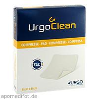 UrgoClean Kompresse 6x6cm, 10 ST, Urgo GmbH