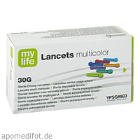 myLife Lancets multicolor, 200 ST, Ypsomed GmbH