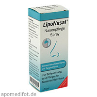 LipoNasal Nasenpflege Spray, 10 ML, Optima Pharmazeutische GmbH