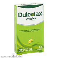 DULCOLAX DRAGEES, 20 ST, Sanofi-Aventis Deutschland GmbH GB Selbstmedikation /Consumer-Care