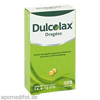 DULCOLAX DRAGEES, 100 ST, Sanofi-Aventis Deutschland GmbH GB Selbstmedikation /Consumer-Care