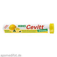 HERMES Cevitt Zitrone, 20 ST, Hermes Arzneimittel GmbH