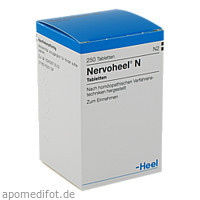 NERVOHEEL N, 250 ST, Biologische Heilmittel Heel GmbH