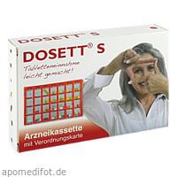 DOSETT S-Arzneikassette rot, 1 ST, Hormosan Pharma GmbH