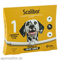 SCALIBOR Protectorband 65 cm f.große Hunde, 1 ST, Intervet Deutschland GmbH