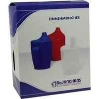 Einnehmebecher m.Griff u.2Deckel 4 u.12mm, 1 Stück, Dr. Junghans Medical GmbH