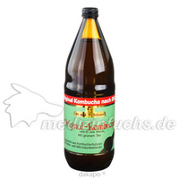 Original Kombucha nach Dr.Med.Sklenar m.grünem Tee, 1000 ML, Dr.Med.Sklenar Kombucha-Produkte E.K.