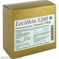 Lecithin 1200, 100 ST, Fbk-Pharma GmbH