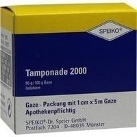 Tamponade 2000 getraenkt 1cmx5m, 1 ST, Speiko Dr.Speier GmbH