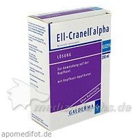 ELL-CRANELL alpha m.Kopfhaut Applikator Lösung, 200 Milliliter, Galderma Laboratorium GmbH