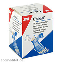 COBAN blau 1583 B Binden 7.5cmx3m ungedehnt, 1 ST, 3M Medica Zwnl.d.3M Deutschl. GmbH