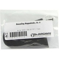 Däumling Leder Gr.6, 1 ST, Dr. Junghans Medical GmbH