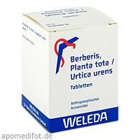Berberis Planta Tota Urtica urens, 200 ST, Weleda AG