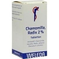 Chamomilla Radix 2%, 100 ST, Weleda AG